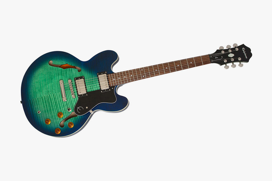 Epiphone Limited Edition Dot Deluxe Aquamarine